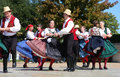 Nice folk dance show Royalty Free Stock Photo