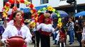 Folk dancers from Otavalo, Ecuador