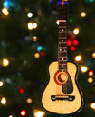 A Folk Guitar Ornament Royalty Free Stock Photo