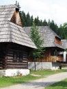 Folk houses in Zuberec museum