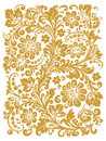 Folk Khokhloma. Ornament in style of Russian national tradition Royalty Free Stock Photo