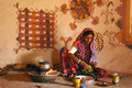 Folk Life in Gujarat Royalty Free Stock Photography
