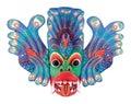 Folk Theatre Mask Royalty Free Stock Photo