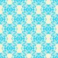 Folklor seamless patterns. Seamless blue patterns. Royalty Free Stock Photo