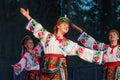 Folklorama in Winnipeg Royalty Free Stock Photo