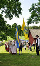 Folklore ensamble of Sweden Stock Images