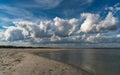 Folly Beach Royalty Free Stock Photo
