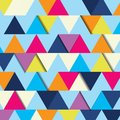 Fond abstrait de triangle multicolore Photos libres de droits