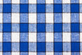 Fond Checkered de textile Image stock