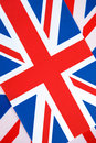 Fond d'indicateur d'Union Jack Images libres de droits