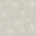 Fond rose floral sans couture Photos libres de droits