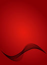 Fond rouge abstrait Photographie stock libre de droits