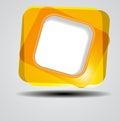 Fondo astratto dei quadrati di colore Fotografie Stock Libere da Diritti