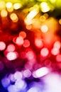 Fondo hermoso de las luces del día de fiesta Fotos de archivo libres de regalías