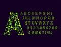 Font Space Alphabet Typeface S...