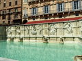 Fontain in Siena Stock Image