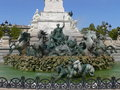 Fontaine aux Girondins, Bordeaux (France) Royalty Free Stock Image