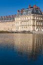Fontainebleau castle seine et marne ile de france france Royalty Free Stock Photos