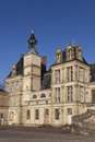 Fontainebleau castle seine et marne ile de france france Stock Photography