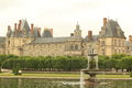 Fontainebleau chateau Royalty Free Stock Photo