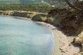 Fontana amorosa cyprus view of beach at akamas peninsula Stock Image