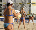 Fontana AVP Crocs Volleyball Tour Stock Photo