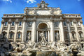 Fontana di Trevi,Roma, Italy Royalty Free Stock Photography
