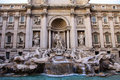 Fontana di Trevi. Rome Royalty Free Stock Photography