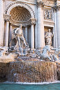 Fontana di Trevi in Rome Stock Images
