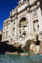 Fontana di Trevi in Rome (Italy) Royalty Free Stock Photo