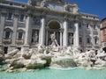 Italy. Rome. Fontana di trevi Royalty Free Stock Photo