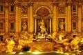 Fontana di Trevi in Rome, Italy Royalty Free Stock Photo
