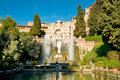 Fontane del Nettuno at tivoli Royalty Free Stock Photography