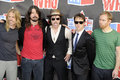 Foo Fighters on the red carpet. Royalty Free Stock Photography