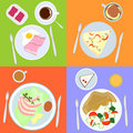 Food for all day Royalty Free Stock Photo