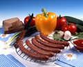 Food assortment Stock Photo