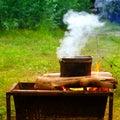 Food On Campfire