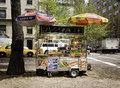 Food Cart, Manhattan, New York City Royalty Free Stock Photo