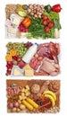 Jedlo kombinácia skupiny