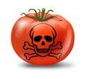 Food contamination Royalty Free Stock Photo