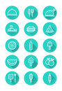 Food and cooking icons set.
