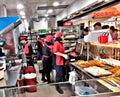 Food court tamah Jurong shopping centre Royalty Free Stock Photo