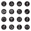 Food And Drink  Doodles Icons ...