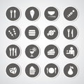 Food and drink icon Royalty Free Stock Photo