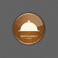 Food and drink wood application icons this is file of eps format Stock Photos