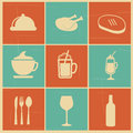 Food and drinks Royalty Free Stock Image