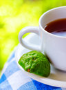 Food earl grey tea with bergamot Royalty Free Stock Photo