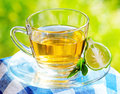 Food earl grey tea with bergamot Stock Photos