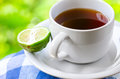 Food earl grey tea with bergamot Stock Photography