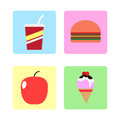 Food icon Royalty Free Stock Photo